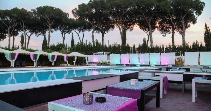 Appio Claudio Eventi area a bordo piscina per feste 50 anni