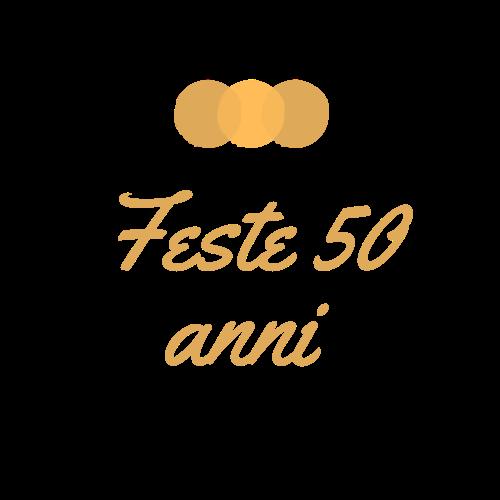 Feste 50 Anni
