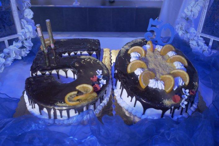torta 50 anni JT CAFE'